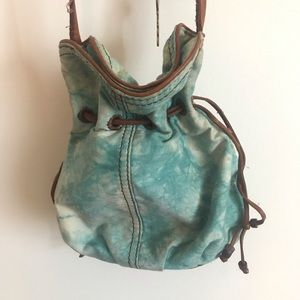 Lucky Brand Drawstring Pouch Purse